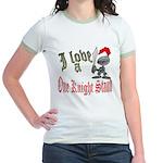 1 Night Stand Jr. Ringer T-Shirt