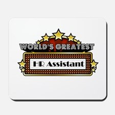 World's Greatest HR Assistant Mousepad