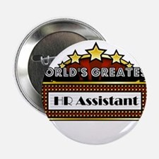 """World's Greatest HR Assistant 2.25"""" Button"""