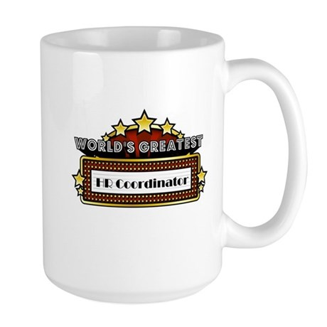 World's Greatest HR Coordinator Large Mug