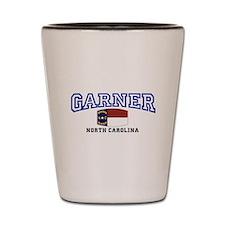 Garner, North Carolina, NC, USA Shot Glass
