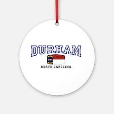 Durham, North Carolina, NC, USA Ornament (Round)