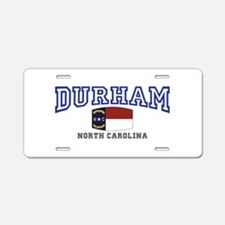 Durham, North Carolina, NC, USA Aluminum License P