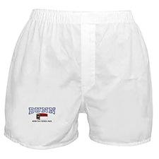 Dunn, North Carolina, NC, USA Boxer Shorts