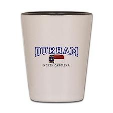 Durham, North Carolina, NC, USA Shot Glass