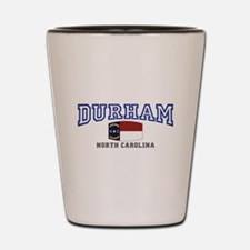 Durham, North Carolina, NC, USA Shot Glass