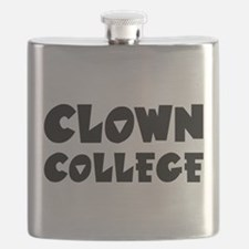 Clown College - Humor Flask