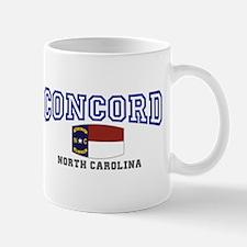 Concord, North Carolina, NC, USA Mug