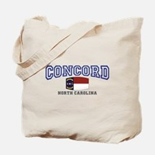 Concord, North Carolina, NC, USA Tote Bag