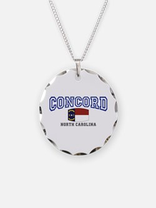 Concord, North Carolina, NC, USA Necklace