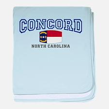 Concord, North Carolina, NC, USA baby blanket