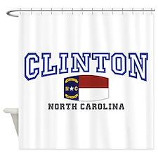 Clinton, North Carolina, NC, USA Shower Curtain