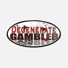 DEGENERATE GAMBLER Patches