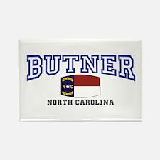 Butner, North Carolina, NC, USA Rectangle Magnet