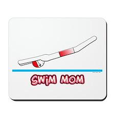 Swim Mom (boy) red suit Mousepad