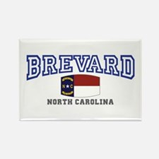 Brevard, North Carolina, NC, USA Rectangle Magnet