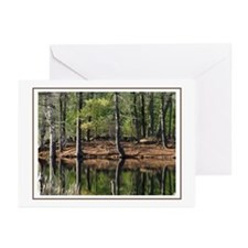 Red Apple Farm Swamp Greeting Cards (Pk of 10)