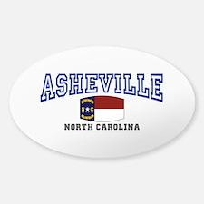 Asheville, North Carolina, NC, USA Decal