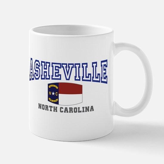 Asheville, North Carolina, NC, USA Mug