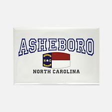 Asheboro, North Carolina, NC, USA Rectangle Magnet
