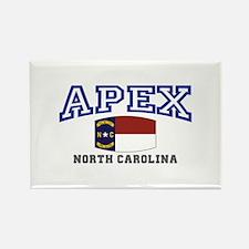 Apex, North Carolina, NC, USA Rectangle Magnet