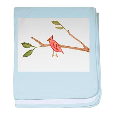 Captive Bird baby blanket