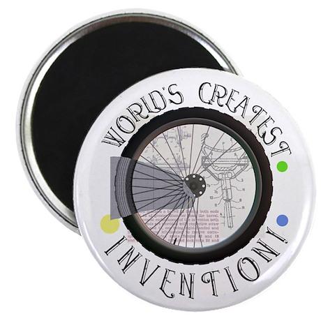 """Bicycle Wheel #8 2.25"""" Magnet (100 pack)"""