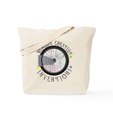 Bicycle Wheel #8 Tote Bag