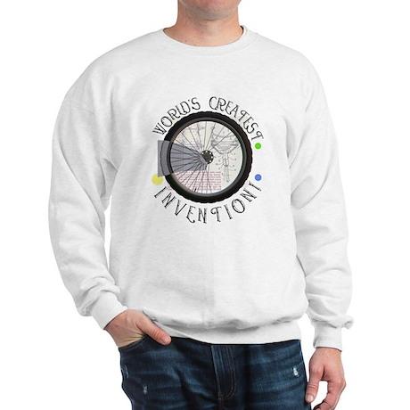 Bicycle Wheel #8 Sweatshirt
