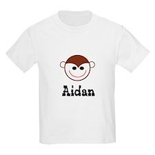 Aidan - Monkey Face Kids T-Shirt