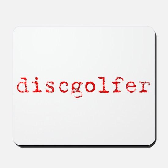 Disc Golf Propoganda Mousepad