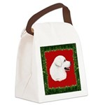 Great Pyrenees Holiday Canvas Lunch Bag
