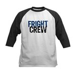 Flight Fright Crew Halloween Kids Baseball Jersey