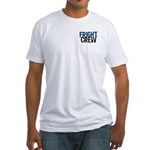 Flight Fright Crew Halloween Fitted T-Shirt