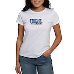 Flight Fright Attendant Halloween Women's T-Shirt