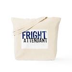 Flight Fright Attendant Halloween Tote Bag