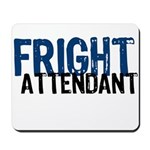 Flight Fright Attendant Halloween Mousepad