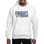 Flight Fright Attendant Halloween Hooded Sweatshir