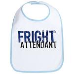 Flight Fright Attendant Halloween Bib