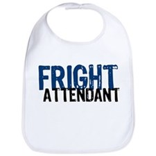 Flight Fright Attendant Halloween Bib