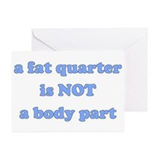 Fat Quarter (quilting) Greeting Cards (Package of