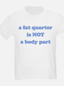Fat Quarter (quilting) Kids T-Shirt