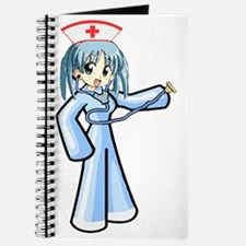 Anime Nurse with Stethoscope Journal