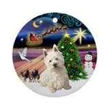 Westie christmas Home Accessories