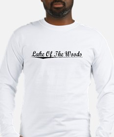 Lake Of The Woods, Vintage Long Sleeve T-Shirt