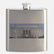 Lincoln Memorial Flask