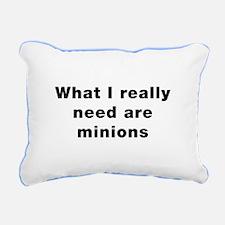 Really Need Minions Rectangular Canvas Pillow