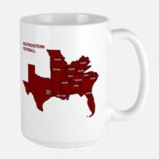 Southeastern Football Large Mug