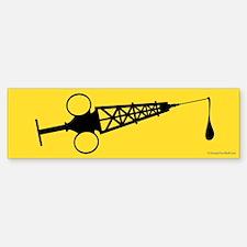 Hypo-Derrick (Black/Yellow) Sticker (Bumper)