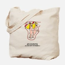 Give Presents Blonde Tote Bag